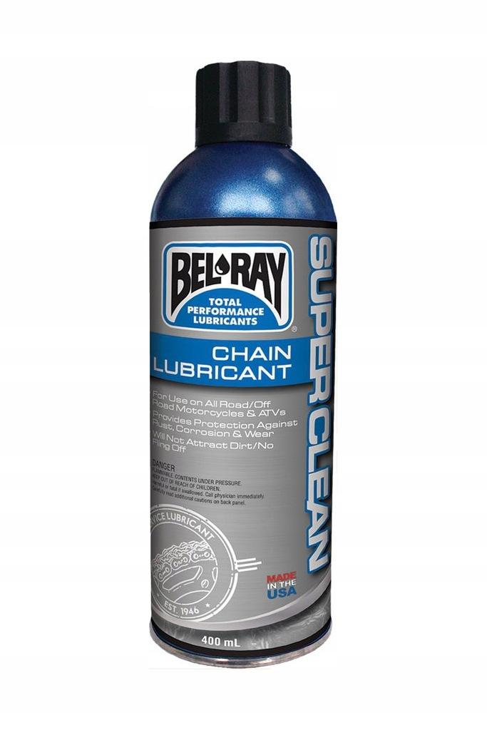 BEL-RAY Super Clean 400ml Smar do łańcucha Belray