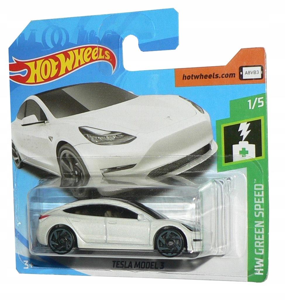 Hot Wheels Tesla Model 3 Nowosc 2019 8360958458 Oficjalne Archiwum Allegro