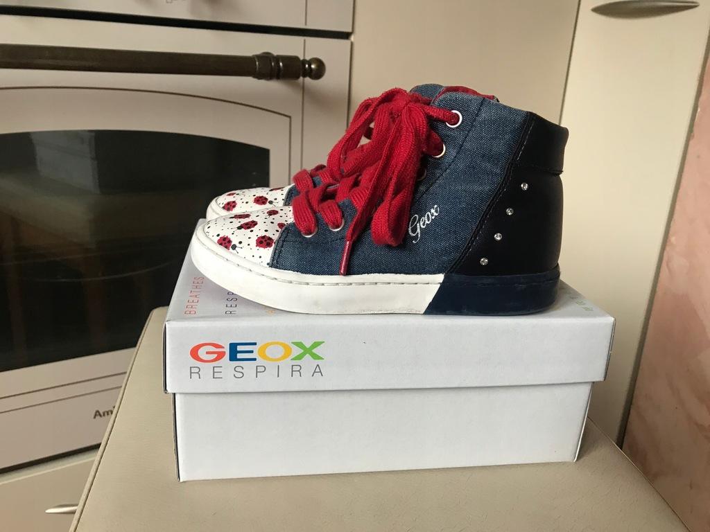 Botki sneakersy Geox 28