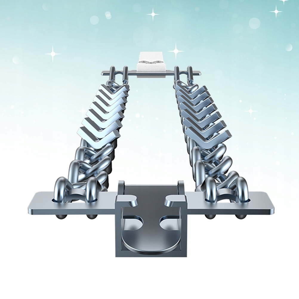 6szt Opona Przeciwpoślizgowy metalowy łańcuch śnie