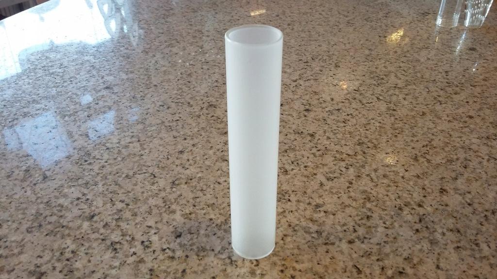 Klosz do lampy CYLINDER TUBA 125mm/24mm