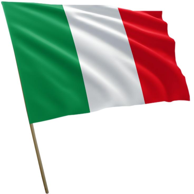 Flaga Włoch Włochy 150x90cm - 7170972996 - oficjalne archiwum Allegro