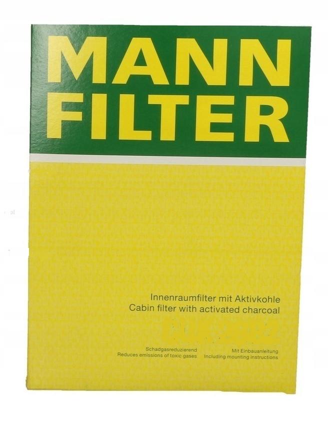 FILTR KABINOWY MANN-FILTER CU 27 007