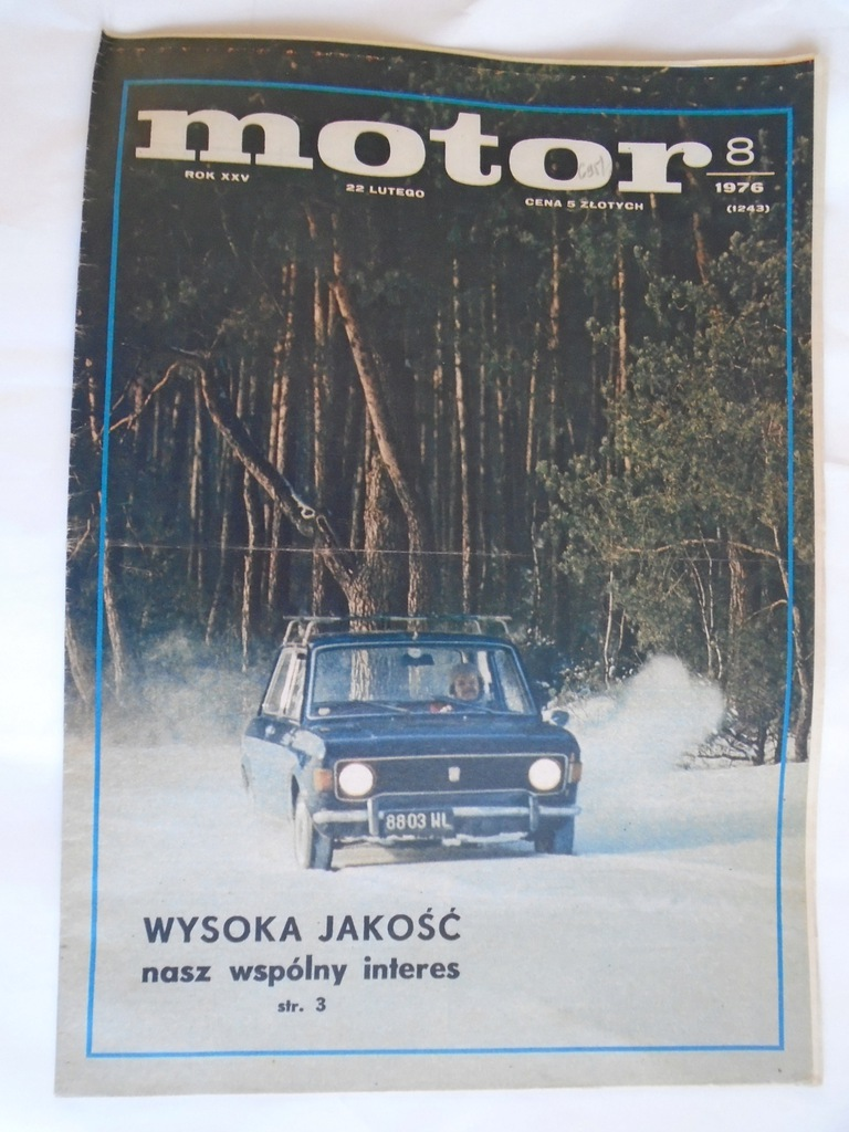 @ MOTOR TYGODNIK NR 8 / 1976
