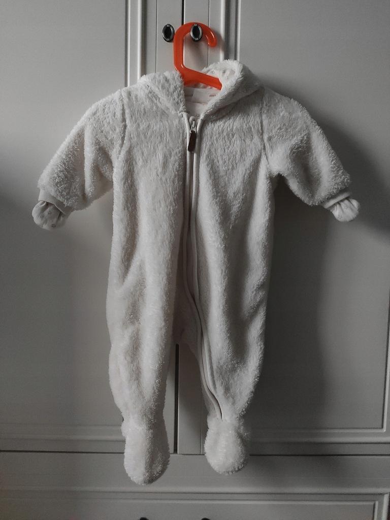 Kombinezon niemowlecy H&M mis futerkowy