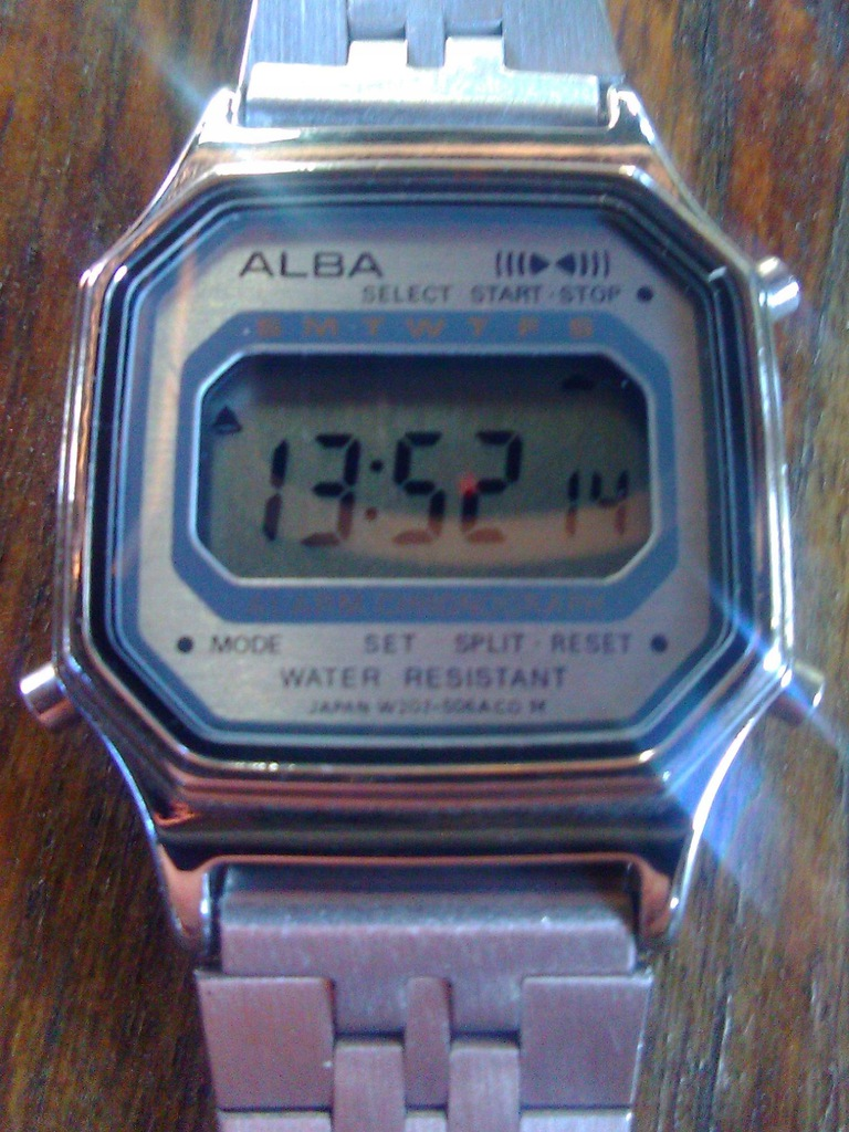ALBA Seiko, 1993 rok, made in Japan, jak nowy.
