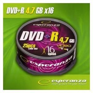 DVD+R 4,7GB x16 - Cake Box 25