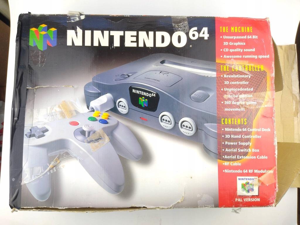 Nintendo 64 N64 BOX ZESTAW !
