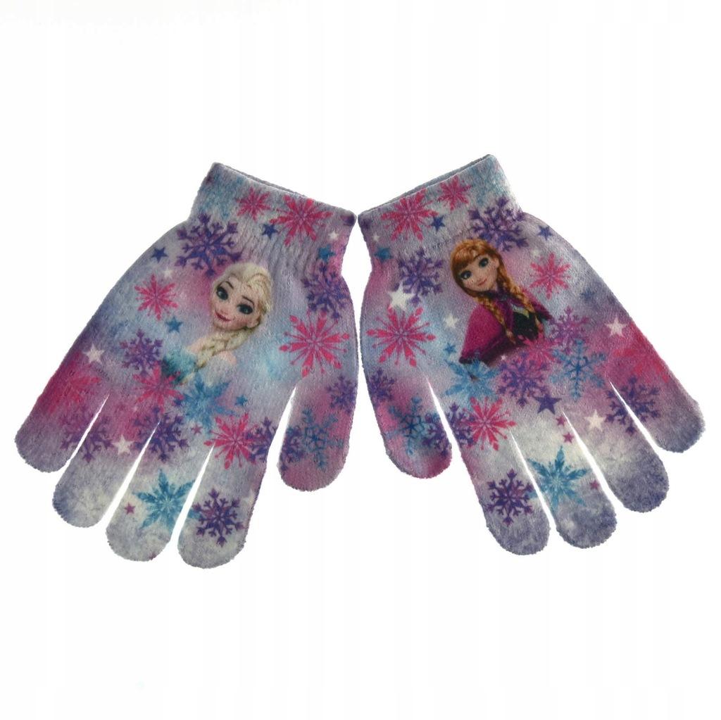 Rękawiczki Frozen Kraina Lodu r.uniwersalny