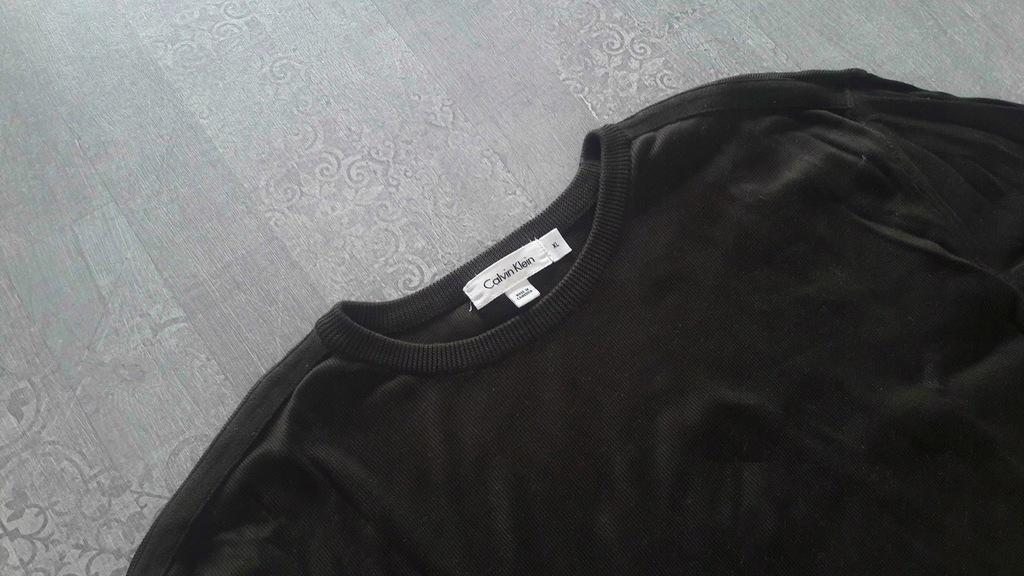 CALVIN KLEIN bluza koszulka z długim rękawem