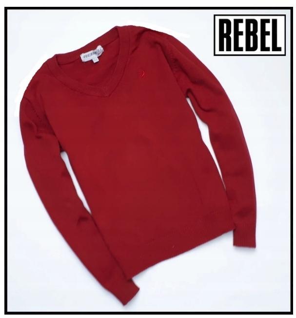 REBEL SWETER sweterek rozmiar 122 128
