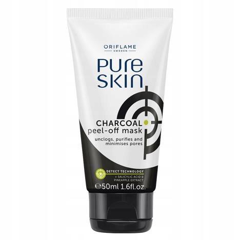 Maseczka z węglem aktywnym Pure Skin