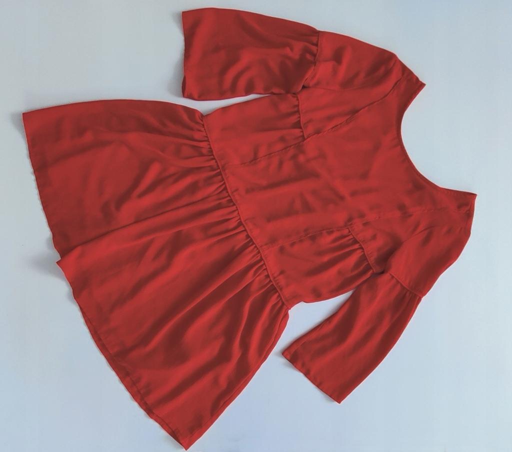 RESERVED _ wygodna luźna sukienka czerwona _ M/38