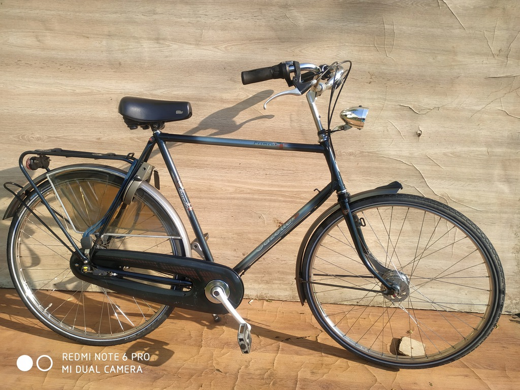 Rower męski Gazelle Prineur 28 ' Sram 3