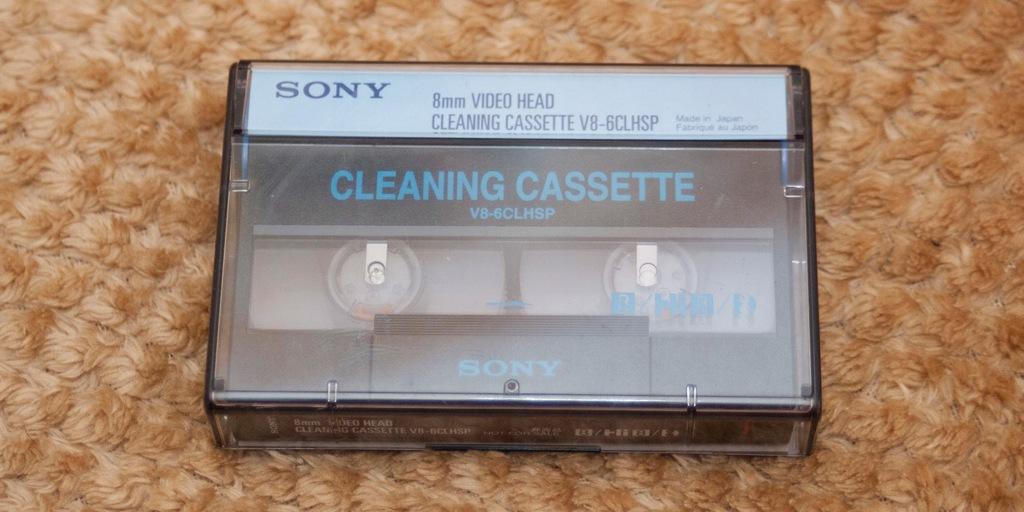 Kaseta czyszcząca video8,Hi8, Digital8_SONY