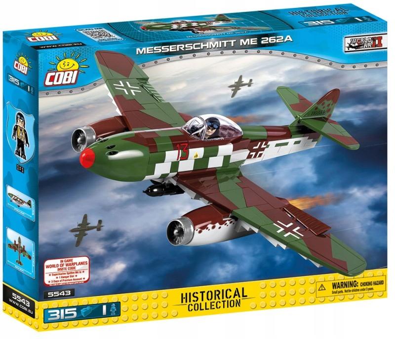 Cobi Klocki Messerschmitt Me 262A myśliwiec