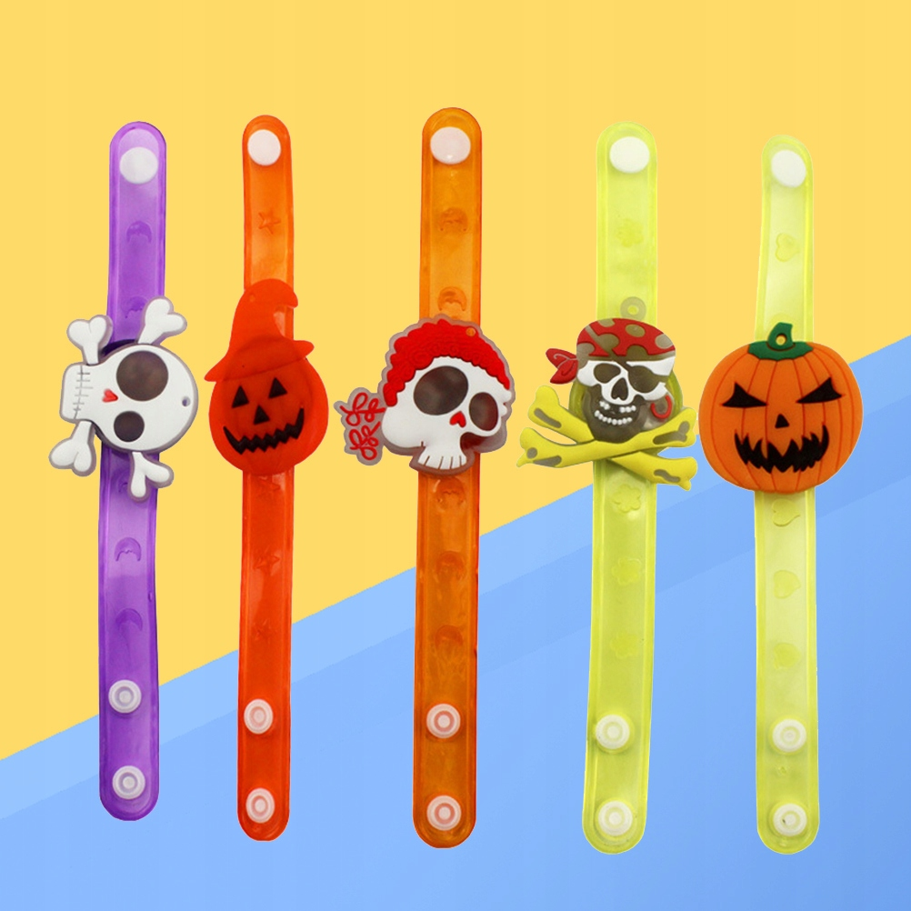 12 Dzieci Halloween Błysk Błysk Bransoletka Koloro