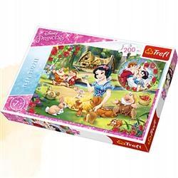Puzzle 200 el Marzenie o miłości Disney. TREFL