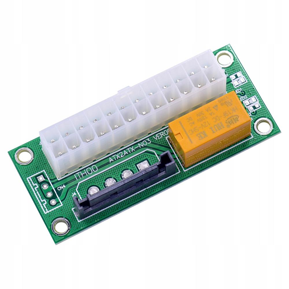 Adapter ADD2PSU zasilaczy dual PSU ATX SATA