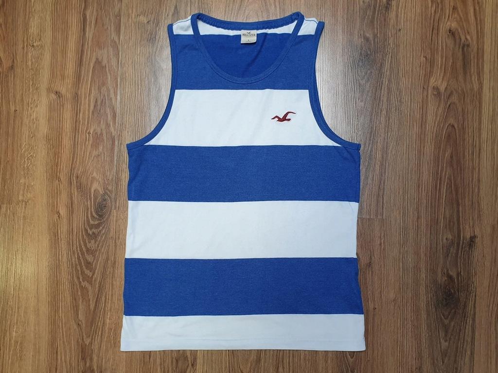 HOLLISTER koszulka BOKSERKA Abercrombie Fitch - L