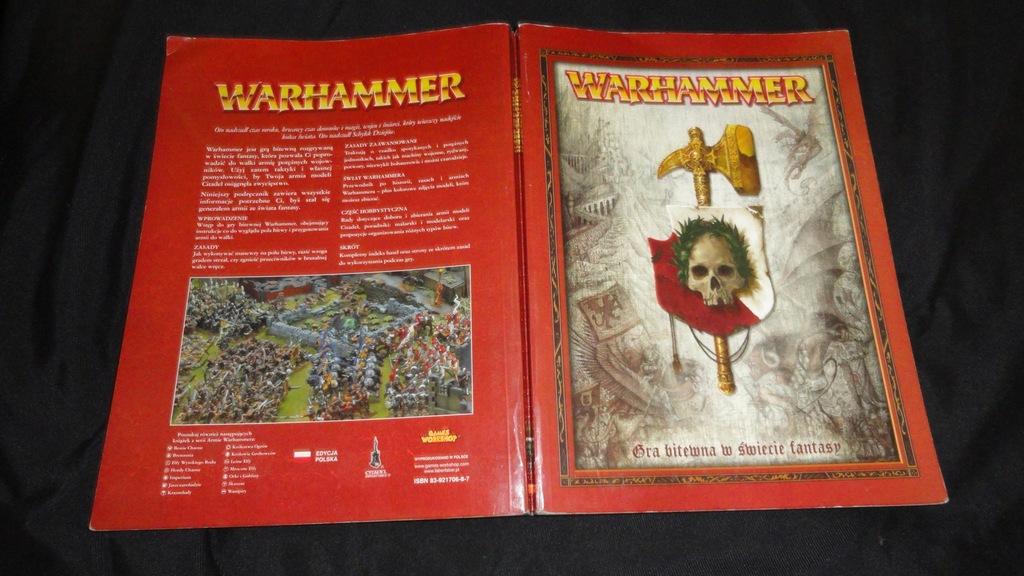 Warhammer podręcznik pl.