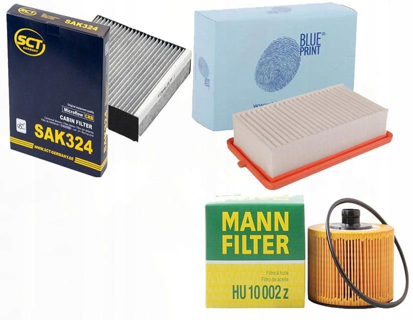 Zestaw filtrów Nissan Micra V ( K14) 0.9 1.0 DIG-T