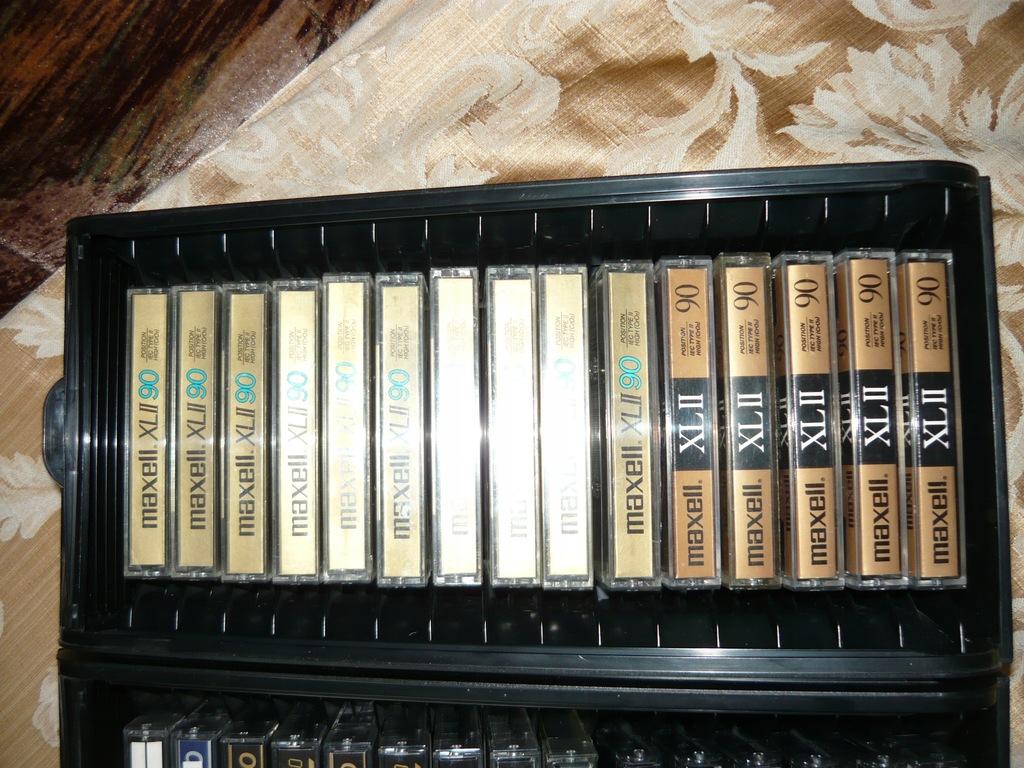 15 szt kaseta magnetofonowa MAXELL
