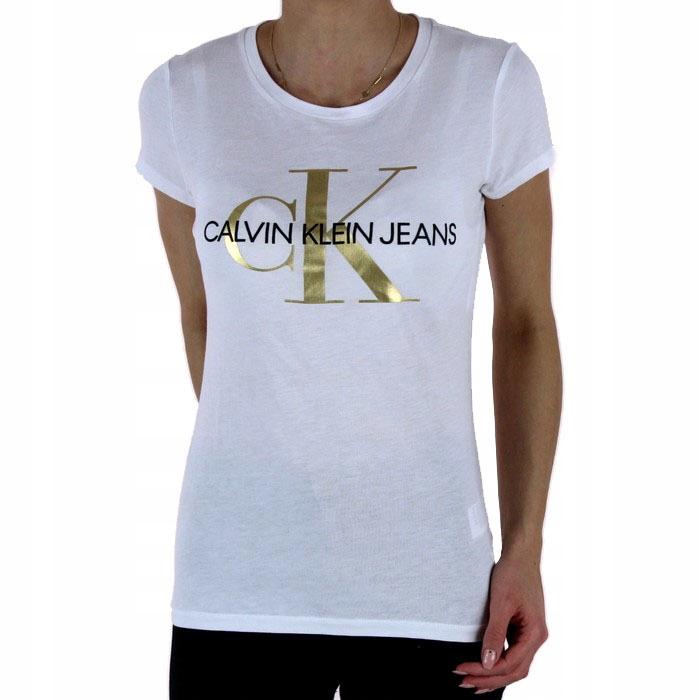 Damska Koszulka Calvin Klein Biala Xl 8396298279 Oficjalne Archiwum Allegro