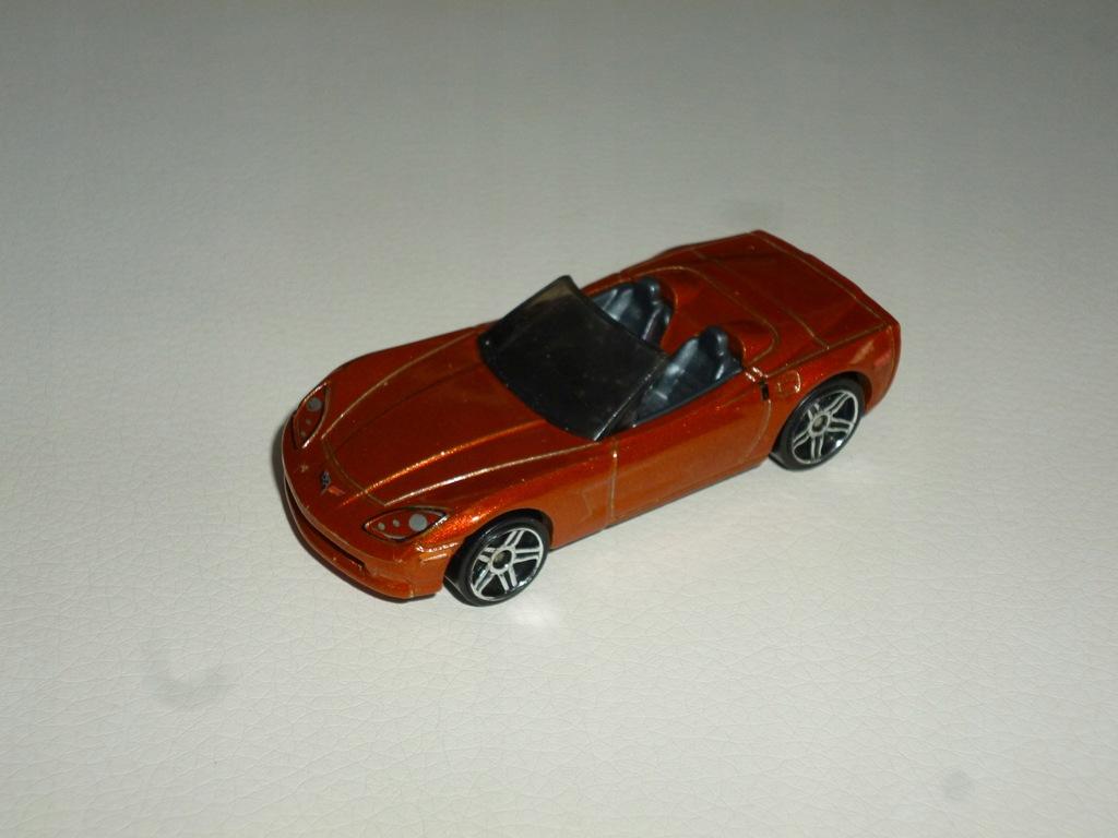 Corvette C6 Hot Wheels resorak model