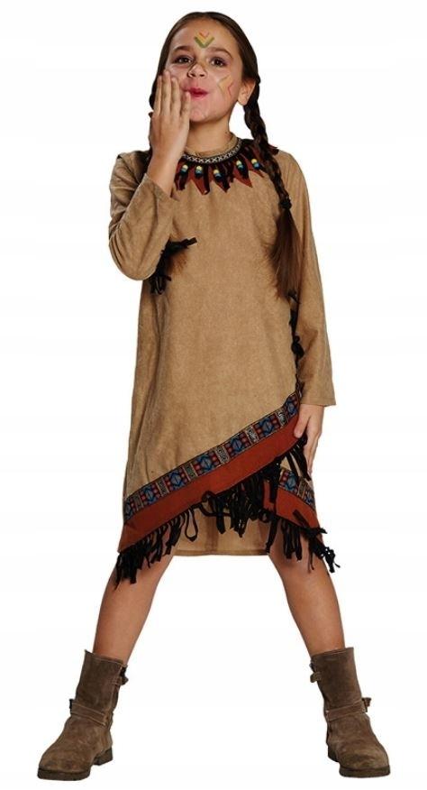 Rubie's kostium Indian Squaw junior brown rozmiar