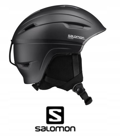 Kask Salomon CRUISER 4D BLACK rozm. M 56 59 2020