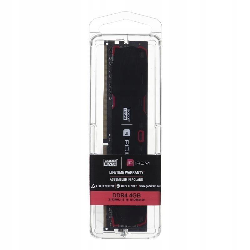 Pamięć RAM GoodRam Iridium DDR4 DIMM 2133 CL15