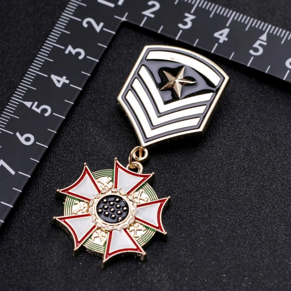 1pc American Flag Pendant Medal Brooch Preppy Styl