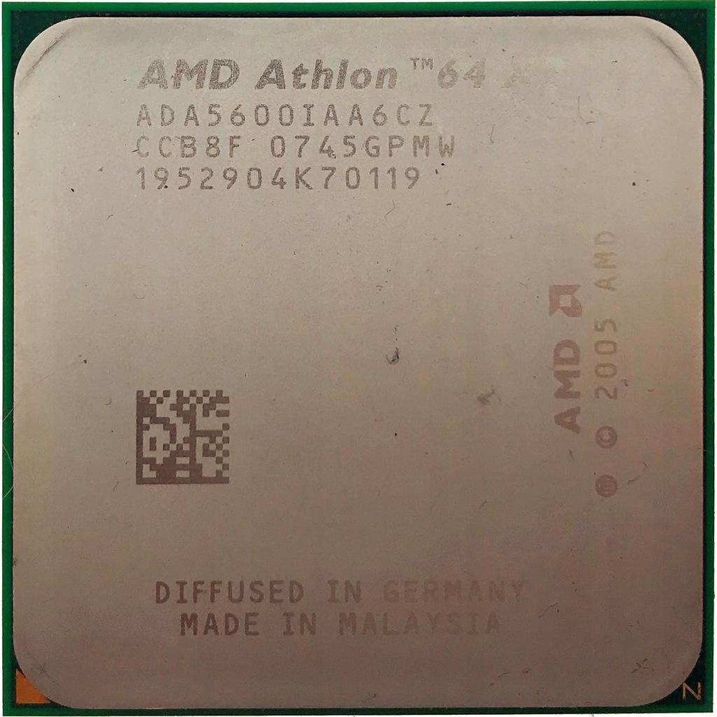 AM2 ATHLON X2 5600+ | ADA5600IAA6CZ | 100% OK !7C
