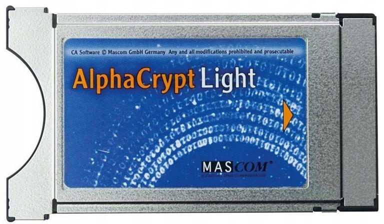Moduł CI CAM Alphacrypt Light Conax Seca Viaccess