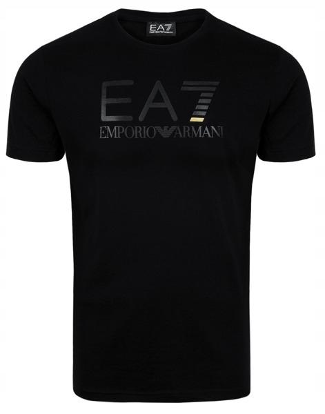 EMPORIO ARMANI czarny t-shirt męski GOLD r.XL