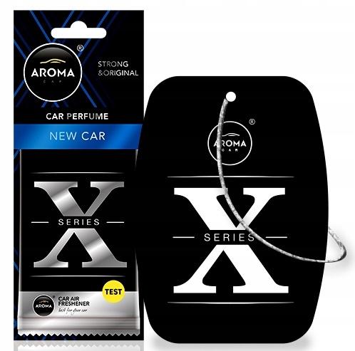 Aroma X-SERIES zawieszka odświeżacz zapach NEW CAR