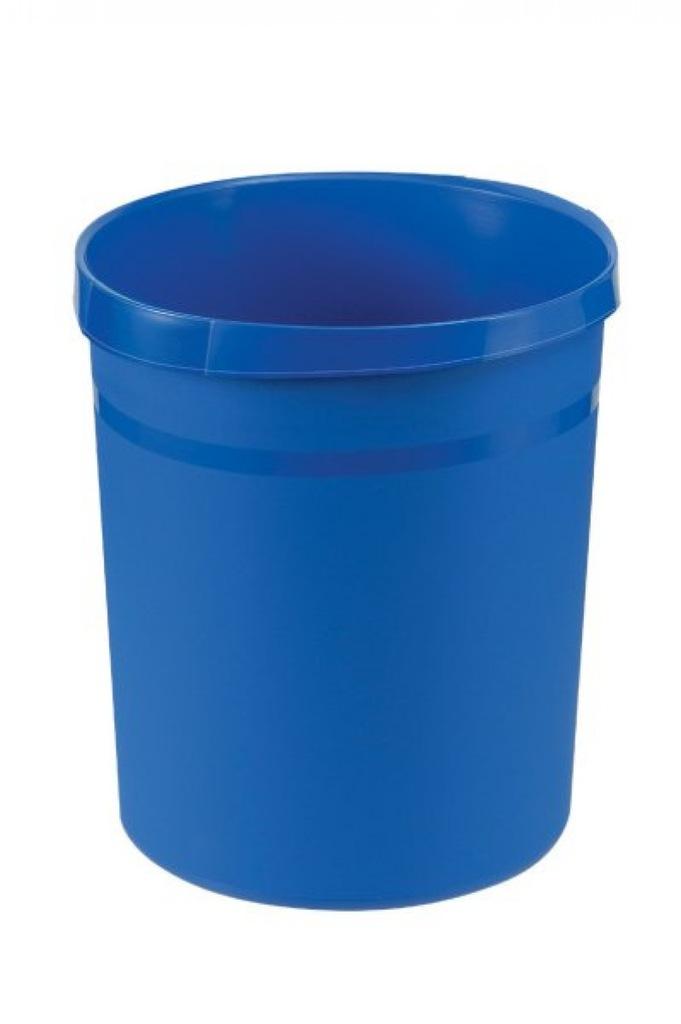 Kosz na śmieci HAN Grip, PP, 18l, niebieski