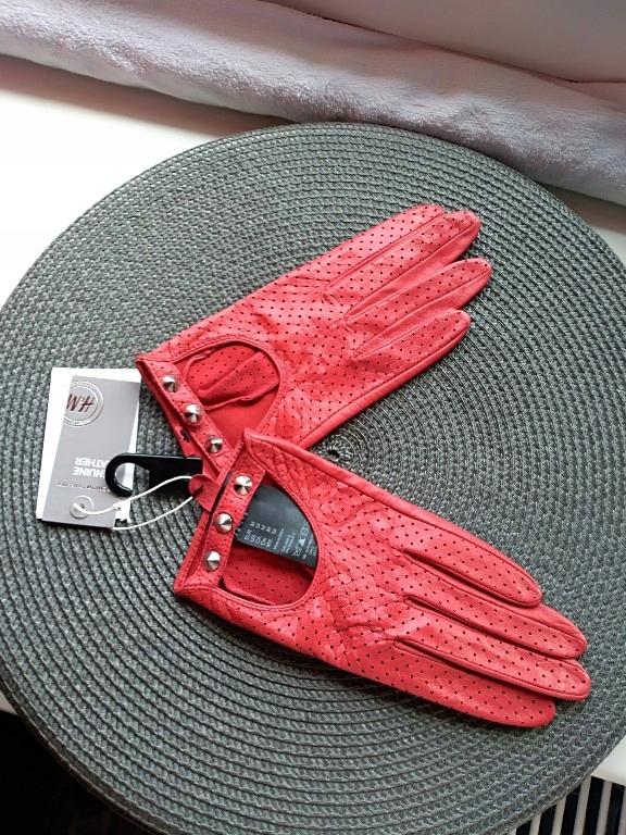 Cudowne Skórzane rękawiczki
