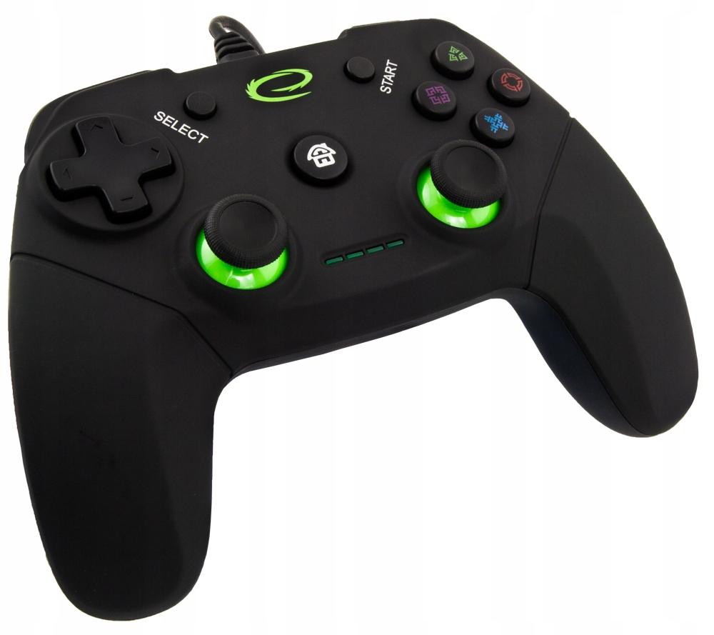 GAMEPAD PRZEWODOWY PAD KONTROLER DO USB PC PS3