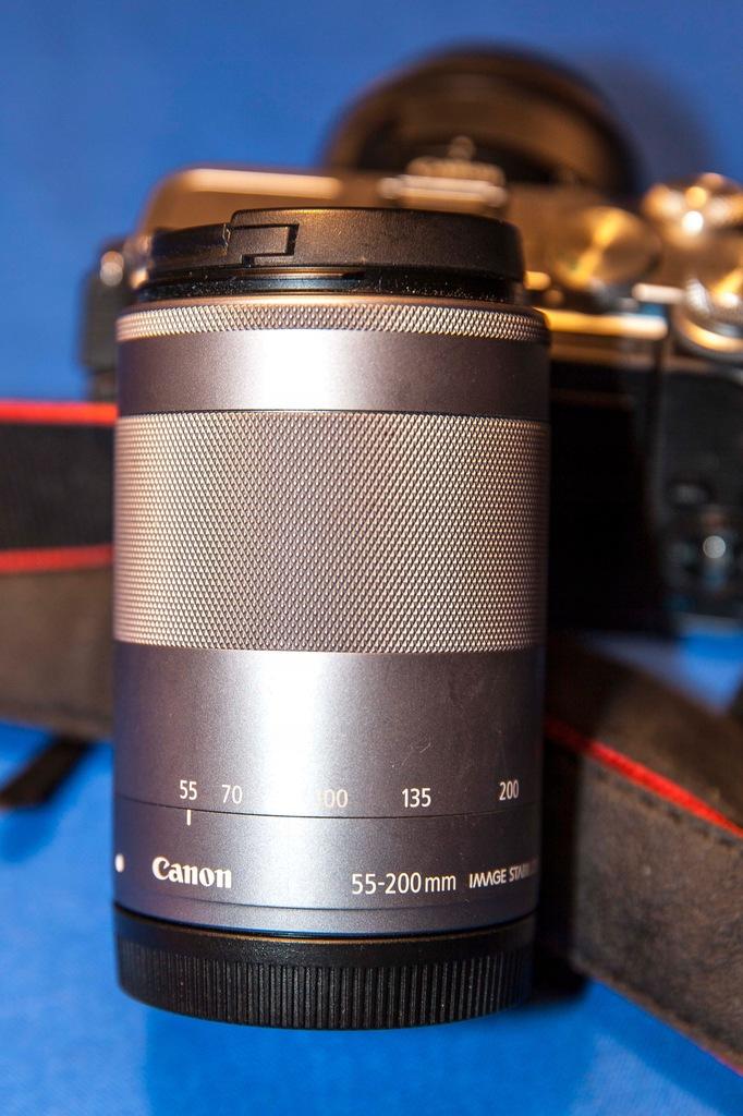Obiektyw Canon 55-200mm do bezlusterkowca Canon M6