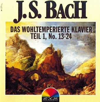Bach - Das Wohltemperierte Klavier Teil 1,2 (CD)