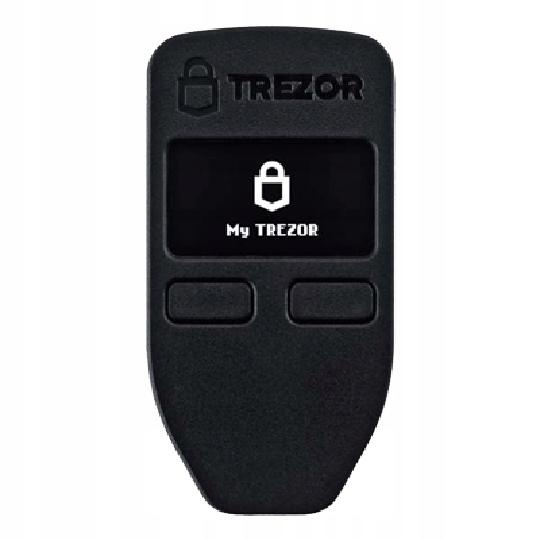 Trezor One -portfel kryptowalut PL od dystrybutora