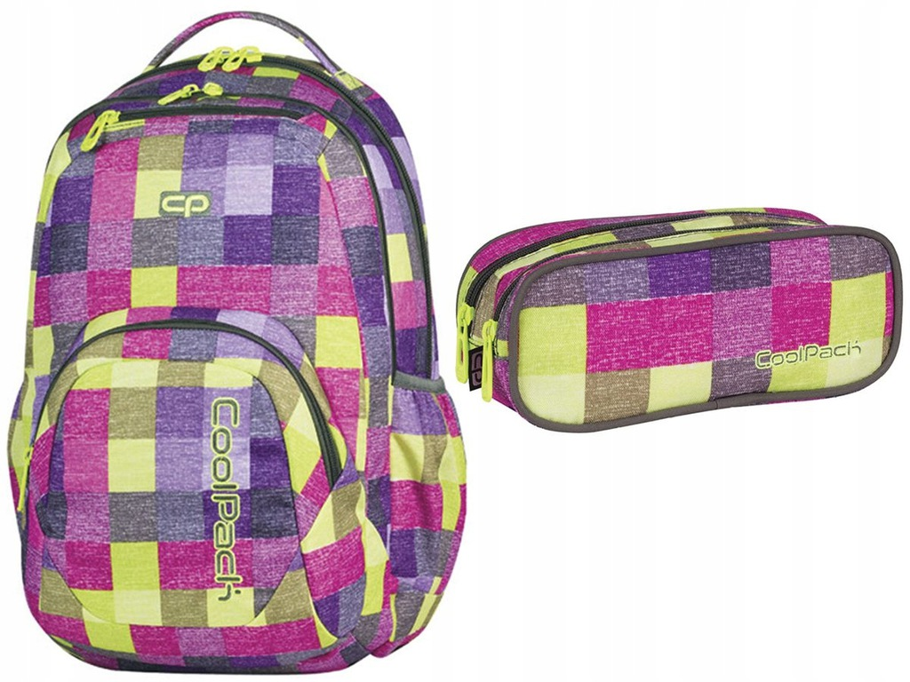 CoolPack szkolny zestaw dla ucznia plecak piórnik