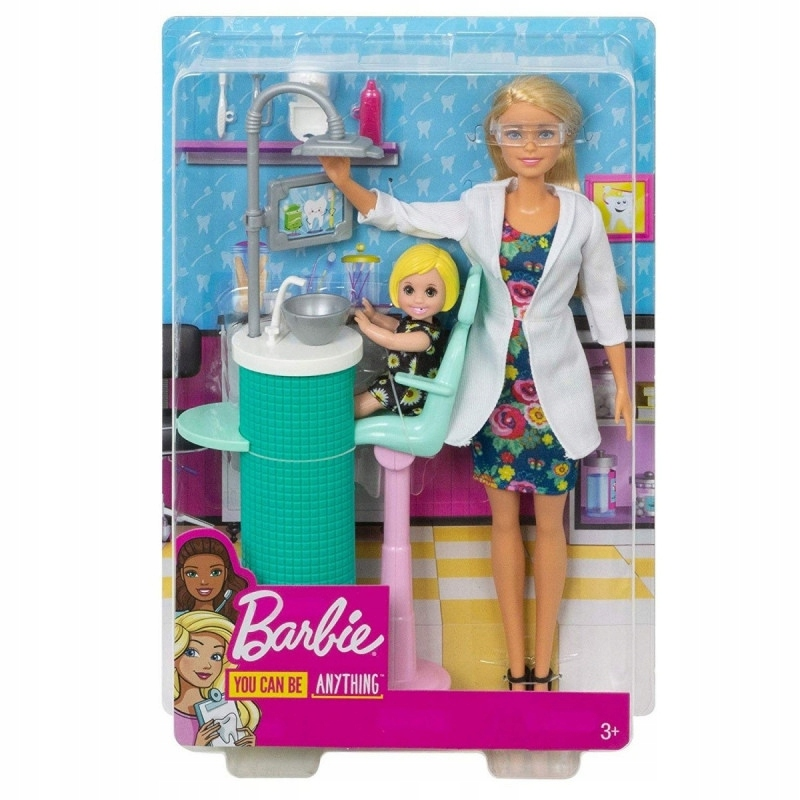 Mattel Lalka Barbie Dentystka