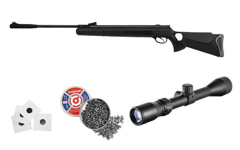 WIATRÓWKA HATSAN 125TH SPORT 4,5mm + LUNETA + FULL