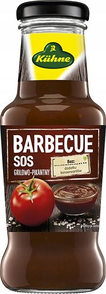 Kuhne sos Barbecue grilowo-pikantny 250 ml