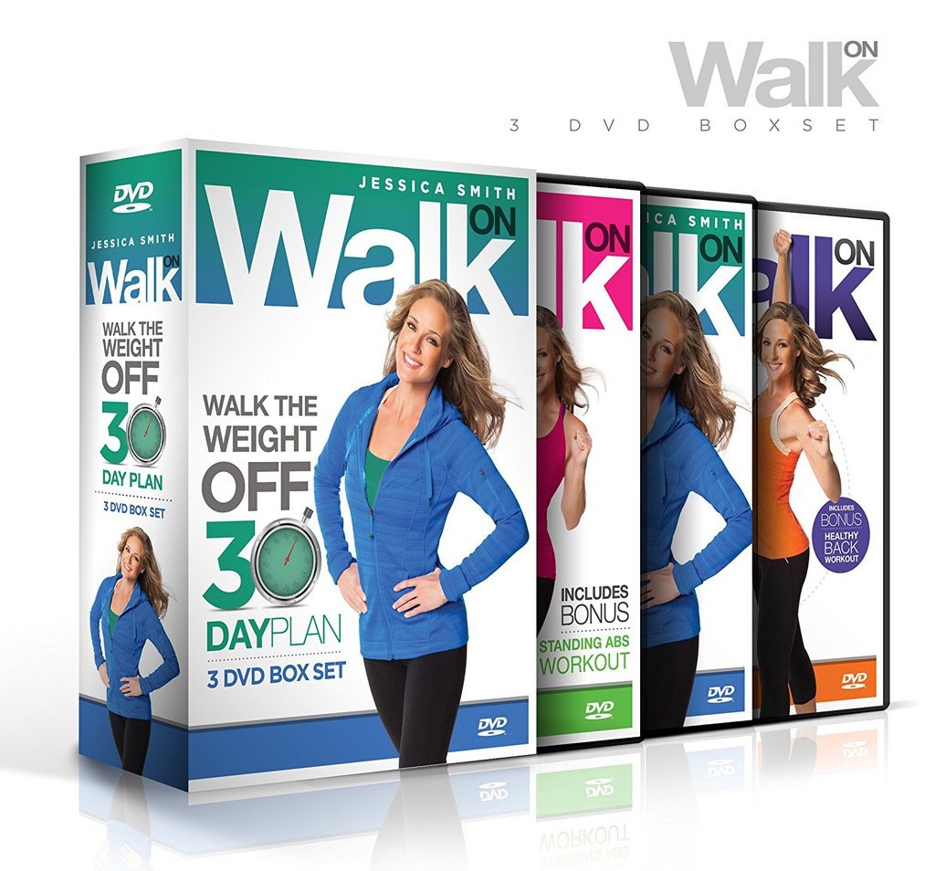Jessica Smith: Walk Off the Weight 30 Day Plan DVD