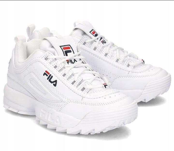 Buty fila białe w Buty damskie Allegro.pl