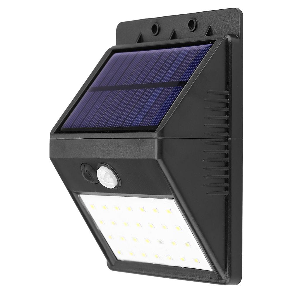 KINKIET ZEWNĘTRZNY 28 LED LAMPA SOLARNA 3w1